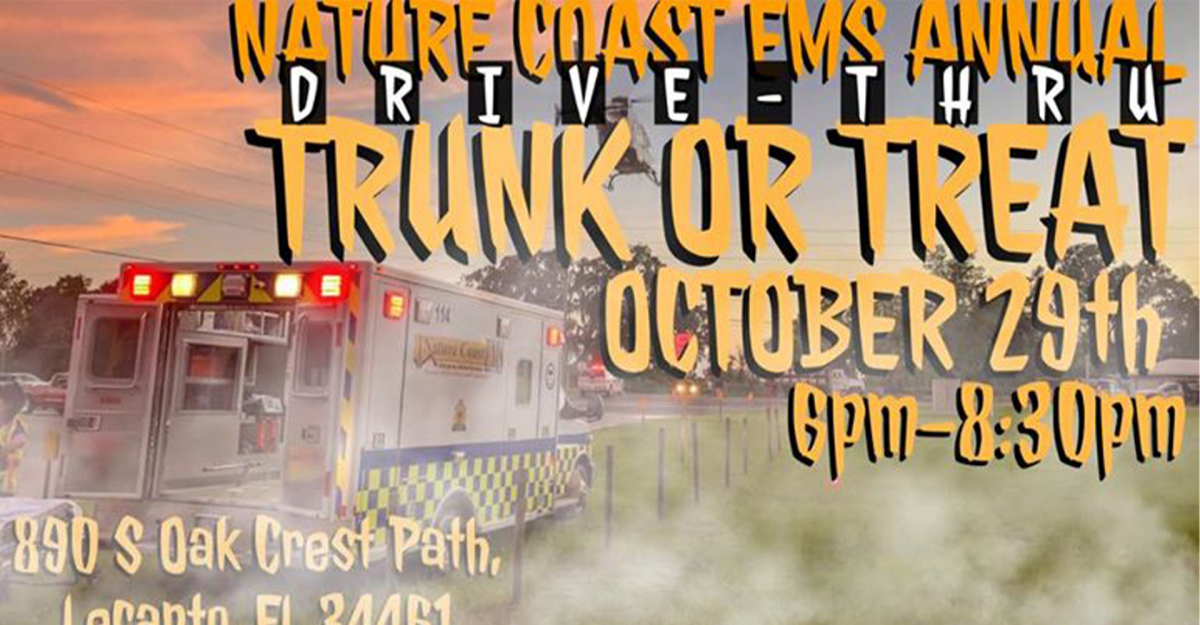 Nature Coast EMS Annual Trunk or Treat